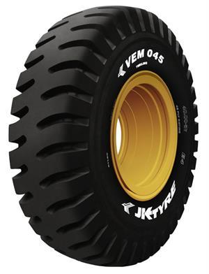 JK Tyre выпустила рекордно большую промышленную шину