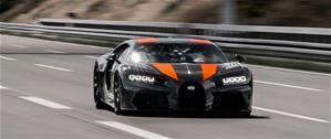 Bugatti Chiron на шинах Michelin установил рекорд скорости