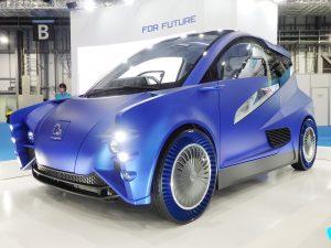 Безводушные шины Toyo noair покажут на Токийском автосалоне