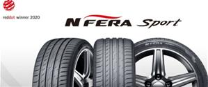 Шина Nexen N'FERA Sport получила награду Red Dot Design Award-2020