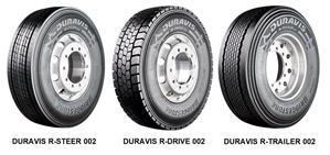 Новые грузовые шины Bridgestone