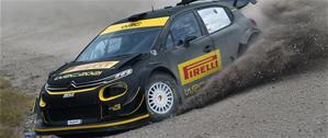 Pirelli начала тестирование шин для WRC