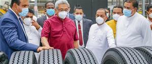 Ferentino Tire открыла шинный завод в Шри-Ланке