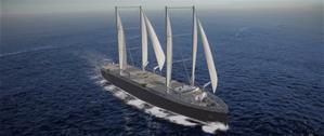 Michelin будет перевозить шины на парусных кораблях